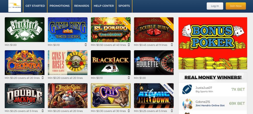 BetRivers-Michigan-online-casino-promo code